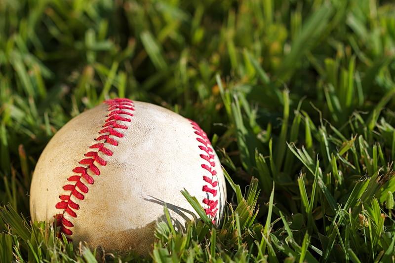 芝の野球ボール